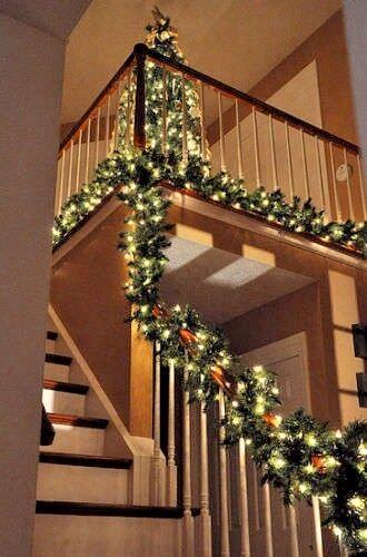 Xmas X Large 4ft Luxury Light Up Led Pre Lit Garland Decorated Christmas Decor