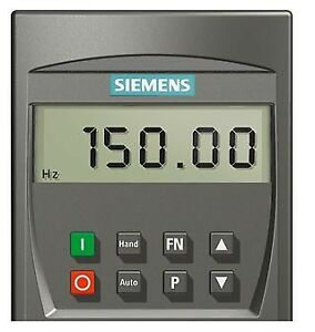 SIEMENS MICROMASTER 4 BASIC PANNELLO OPERATORE BOP 6SE6400-0BE00-0AA0
