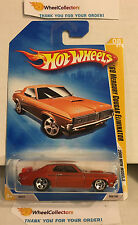 '69 Mercury Cougar Elimintor #8 * Orange * 2009 Hot Wheels * E23