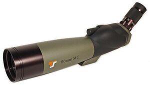 80mm spektiv für sportschützen einschußlöcher 25 100m erkennen