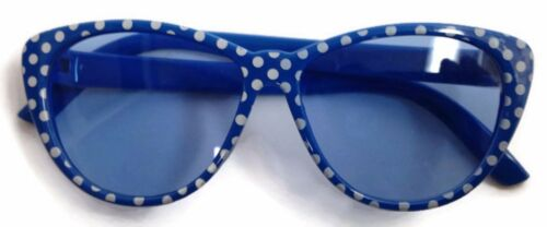 Blue w//White Polka Dots Sun Glasses Fits 18 inch American Girl Doll Clothes