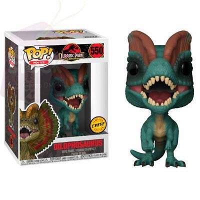Vinyl Figure NEW IN BOX FREE SHIP Dilophosaurus #550 Jurassic Park Funko POP