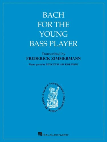 Bach for the Young Bass Player String Solo NEW 000121946