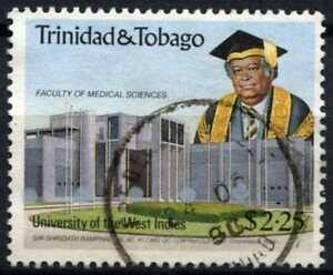 100% Vrai Trinidad & Tobago 1990 Sg#781 $2.25 University Utilisé #d72126-afficher Le Titre D'origine