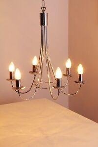 h ngeleuchte moderne pendelleuchte chrom kronleuchter. Black Bedroom Furniture Sets. Home Design Ideas