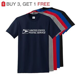 Unisex-USPS-Postal-Post-Office-Sleeve-Tee-T-shirt-Any-color-you-like