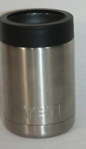 Yeti Rambler Colster Can/ Bottle Holder Cooler Stainless Steel Koozie Coozie