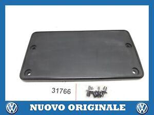 SUPPORTO TARGA ANTERIORE LICENCE PLATE HOLDER FRONT ORIGINALE VW PASSAT CC