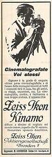 W2167 ZEISS IKON Kinamo - Cinematografate Voi stessi - Pubblicità del 1928 - Ad