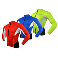 Reflective Cycling Jersey Long Sleeve Men's Mountain Bike Jerseys Cycling Jacket
