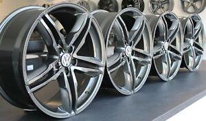 "NEU 4x 18 "" Felgen VW Tiguan Touran Beetle EOS Golf Passat T-ROC WH11 Gunmetal"