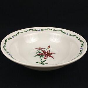 Round-Vegetable-Serving-Bowl-9-034-International-Tableworks-Terrace-Blossoms-Floral