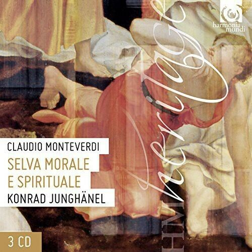 Monteverdi / Junghanel / Cantus Colln - Selva Morale [New CD] Boxed Set