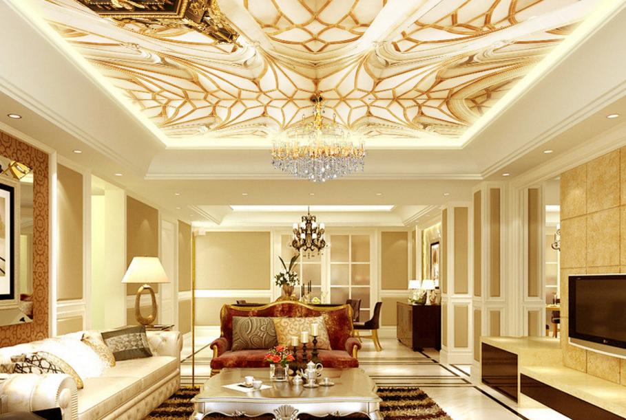 3D Rule Art Design 9 Ceiling WallPaper Murals Wall Print Decal Deco AJ WALLPAPER