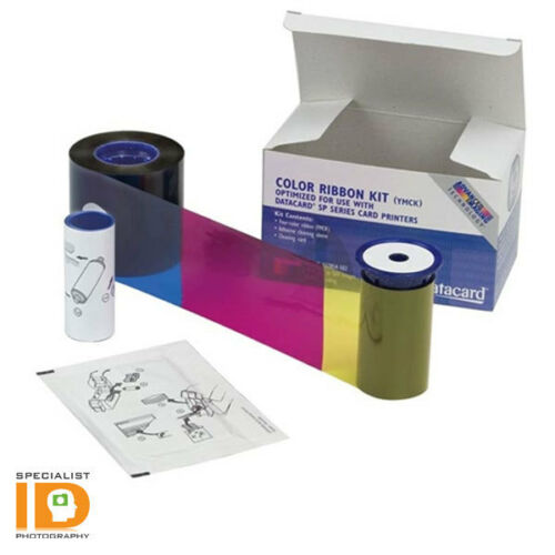 Datacard 568971-002 YMCK-K Color Ribbon /& Cleaning Kit RP90 Plus and SR300