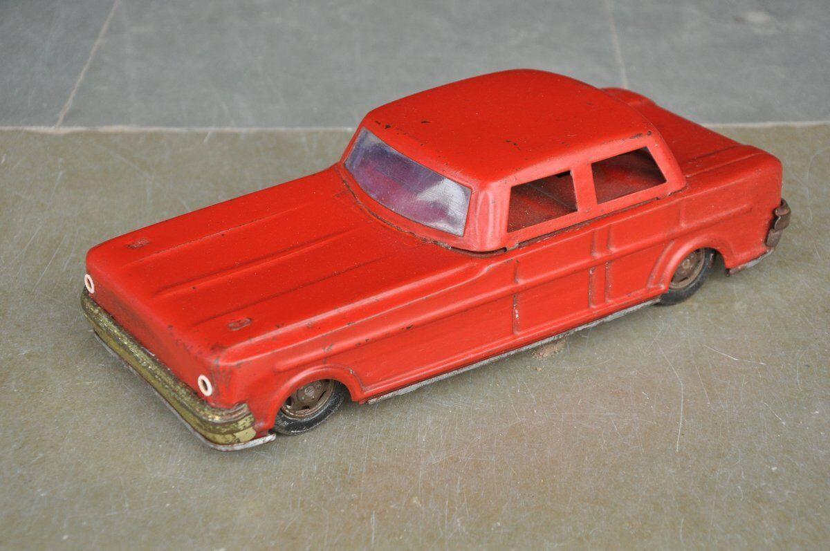 servicio de primera clase Vintage Vintage Vintage Friction rojo Coche Litho Tin Juguete , Collectible  calidad de primera clase