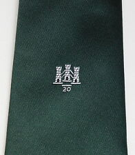 Three Towers 20 crested tie 20th Anniversary unidentified logo company club