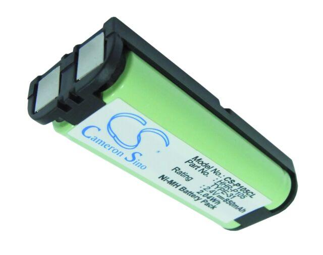 Batería 850mAh tipo HHR-P105 70AAAH3BMXZ Para Panasonic KX-TGA242