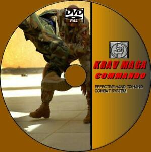 Details about KRAV MAGA COMMANDO 7 HRs COMBAT LESSONS DVD VIDEO GUIDE SELF  DEFENSE LESSONS NEW
