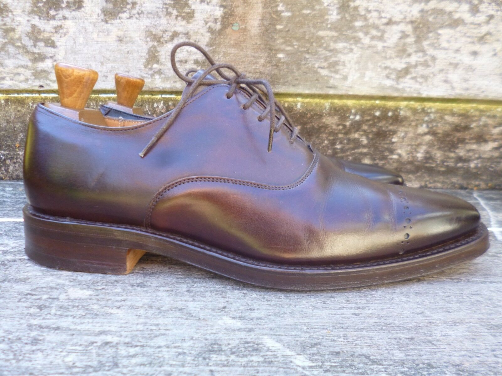 CHEANEY / CHURCH BROGUES – BROWN – UK 8.5 – EXCELLENT PERRY - EXCELLENT – CONDITION 151277