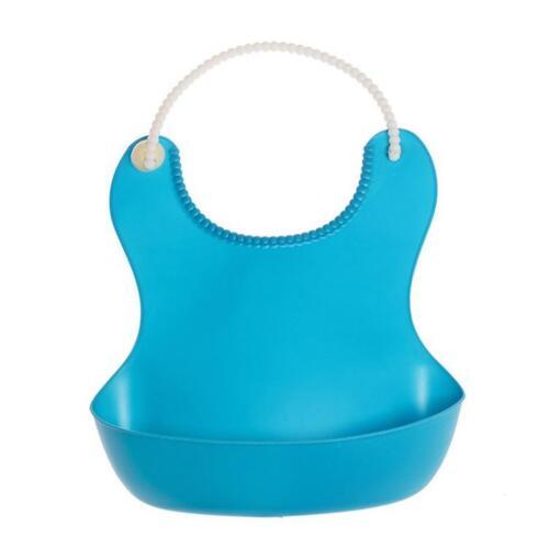 Cute Kid Infant Bibs Baby Soft Silicone Bib Waterproof Saliva Dripping Bibs