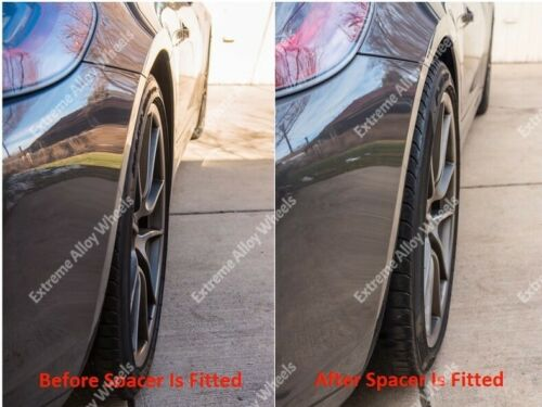 Alloy Wheel Spacers 20mm 25mm Seat Arona Cordoba Ibiza Black Cruize 5x100