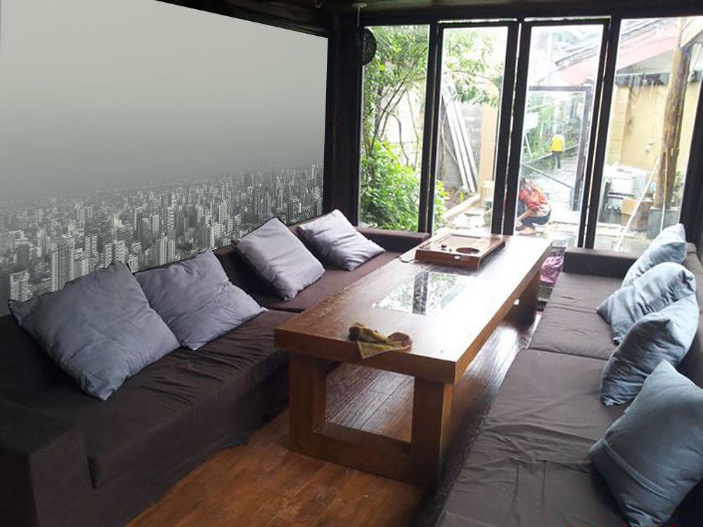 3D Nebligen Stadt 78 Tapete Wandgemälde Tapete Tapeten Bild Familie DE Lemon