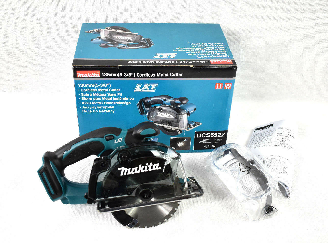 MAKITA DCS552Z 18V Akku Metallkreissäge Metallsäge Metall Saw Säge 136mm DCS 552
