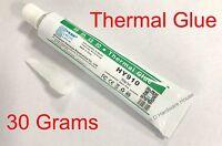 30g - Thermal Conductive Silicone Glue Adhesive - Led Gpu Heatsink Mosfets