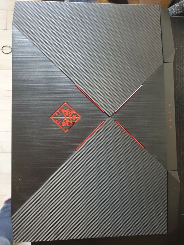 HP OMEN 15-CE003NO, 2.5 GHz, 16 GB ram