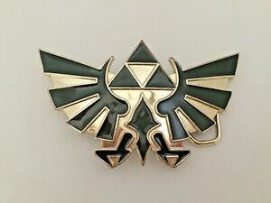 2008-Nintendo-Official-Legend-of-Zelda-Metal-Belt-Buckle-Black-Gold