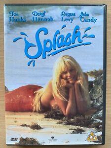 Splash-DVD-1984-Mermaid-Romcom-Movie-Classic-w-Daryl-Hannah-and-Tom-Hanks