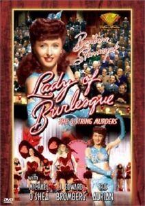 Lady-of-Burlesque-el-G-String-asesinatos-Barbara-Stanwyck-DVD-2001-nuevo