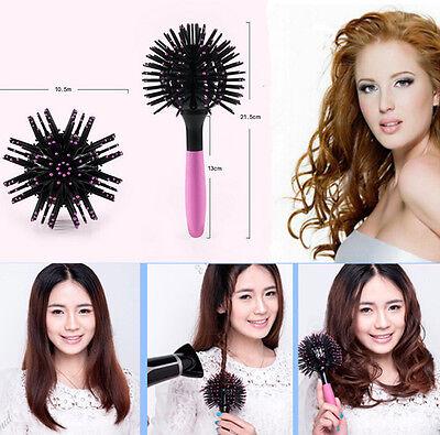 Magic Round Hair Extension Brushes Comb Salon Styling Detangling Hairbrush DIU S