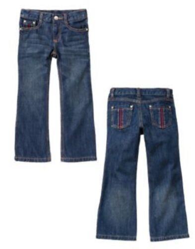 Gymboree Alpine TESORO Denim Jeans Pantaloni TASCHE NASTRO 4 5 6 8 9 10 Nuovo con etichette