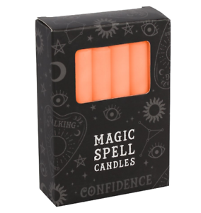 Magic Spell Candle Orange - Confidence - Pack of 12 ...