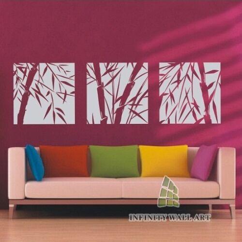 Wall Stickers Tree Flower Kids Art Murals Decals Bamboo Home Vinyl Decor--P133