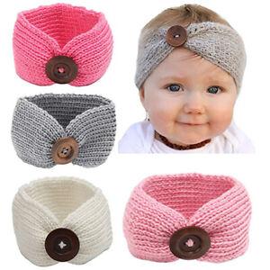 Details Zu Baby Mädchen Haarband Taufe Gestrickt Stirnband Kopfband Kinder Haarschmuck Neu