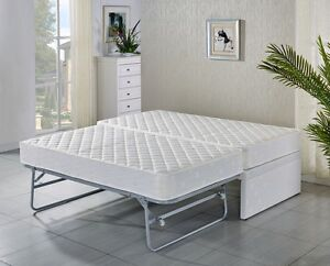 Image Is Loading Single Bed Base With Trundle 2