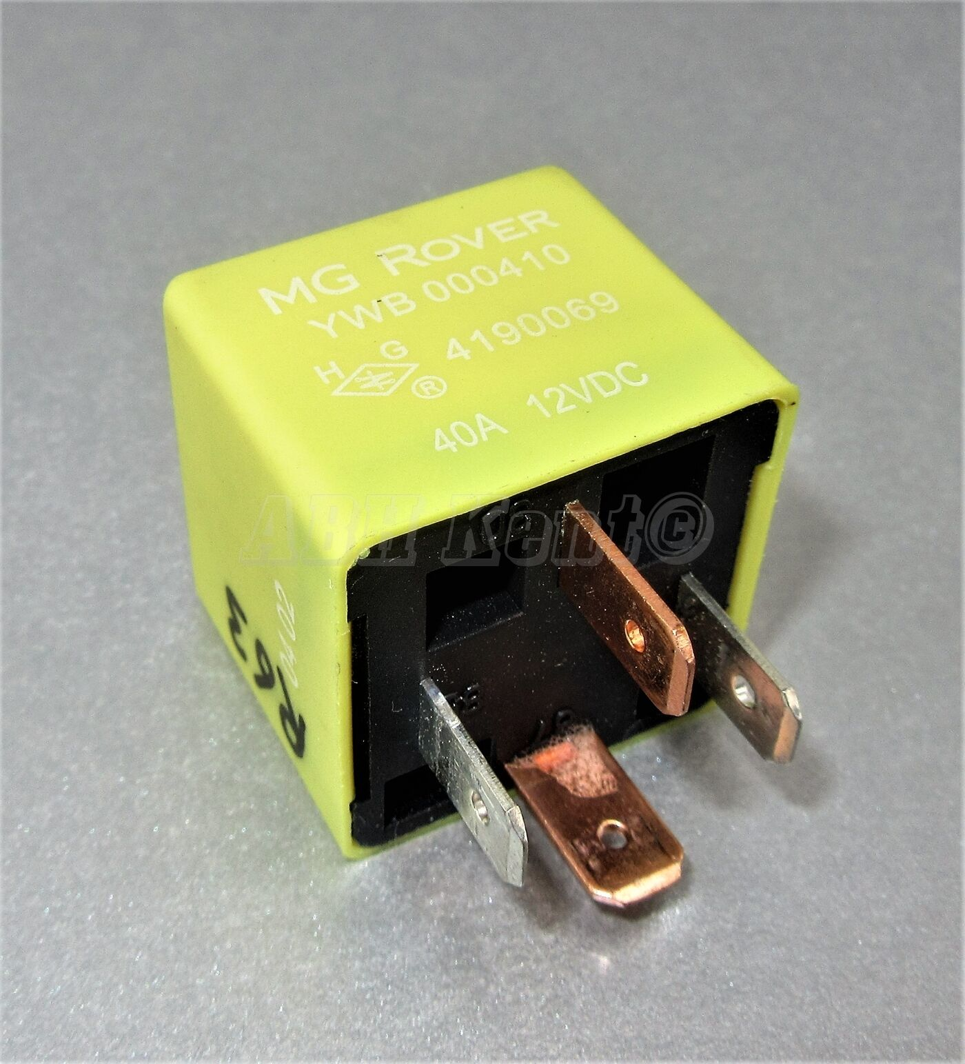 63-Rover MG Land Rover 1995-2005 4 Pin Yellow Relay YWB000410 4190069 40A 12V