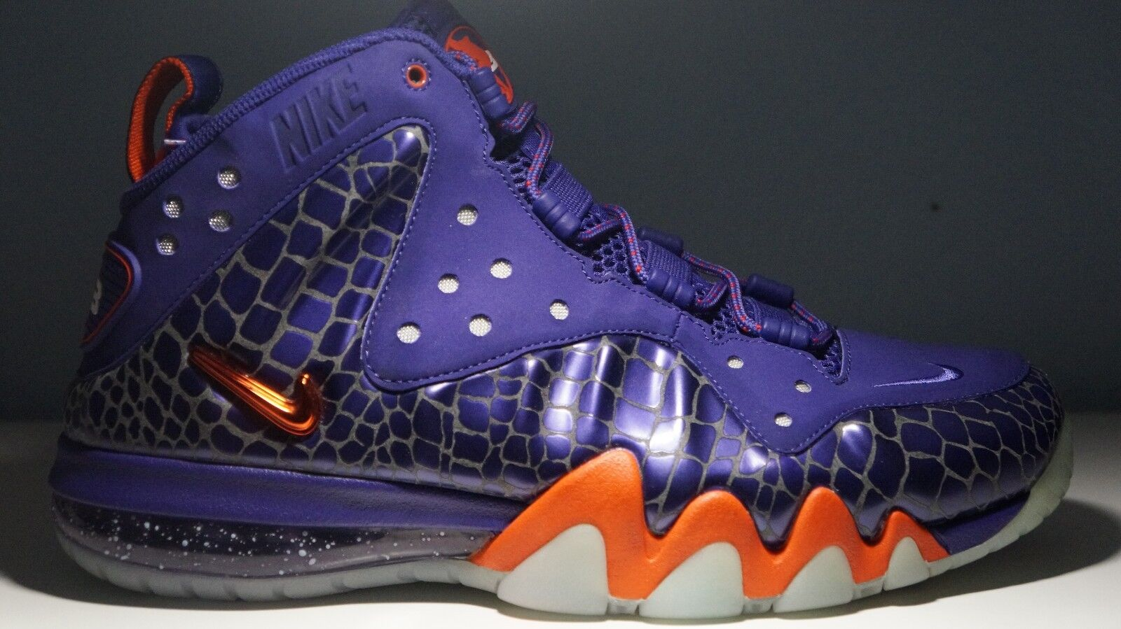 2012 Nike Barkley Posite Max Phoenix Suns SZ 9.5 ( 555097-581 )