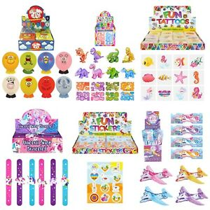 Wholesale Job Lot Toys Party Bag Stocking Fillers Dinosaur Unicorn Space Balloon