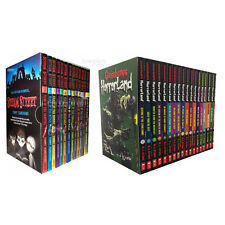 Goosebumps HorrorLandSeries & Scream Street 31 Books Box Gift SetCollection