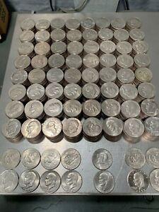 Eisenhower (IKE) Dollars Circulated 1971-1978 (Lot of 50)