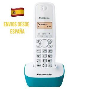 Telefono-Inalambrico-Panasonic-KX-TG1611-Color-Verde-Con-Base-Gran-Alcance