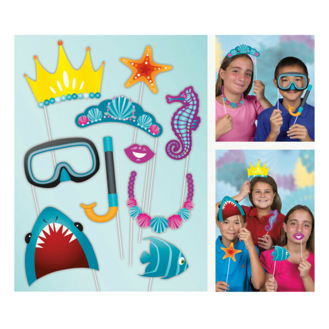 Photo Booth Props Boys Girls Childrens Birthday Party Fancy Dress