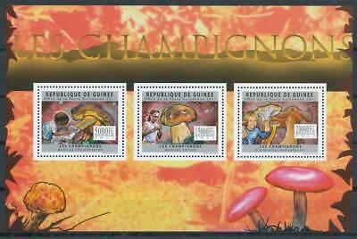 263467) Guinea Klbg. 8858-60** Kinder Und Pilze Eine Hohe Bewunderung Gewinnen