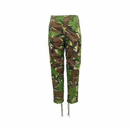 Boys Camouflage Cargo Trousers Kids Camo Army Style Fishing Hunting UK