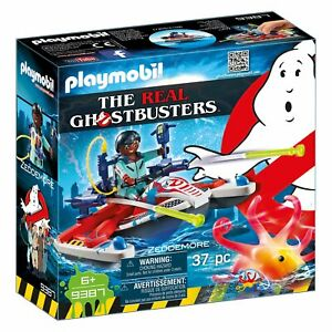 Playmobil-Ghostbusters-Zeddemore-with-Aqua-Scooter