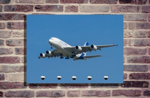 Schlüsselbrett Schlüsselhalter Foto  Flugzug Individuell schlüsselleiste A380